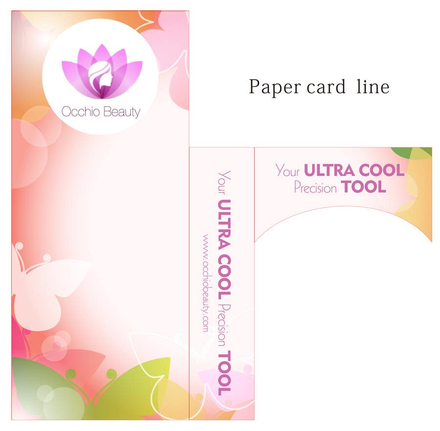 Penyertaan Peraduan #12 untuk Create Print and Packaging Designs for Occhio Beauty - Tweezers Box