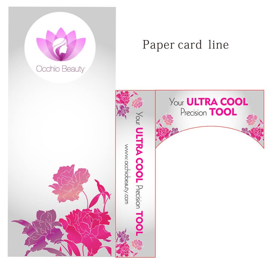 Penyertaan Peraduan #13 untuk Create Print and Packaging Designs for Occhio Beauty - Tweezers Box