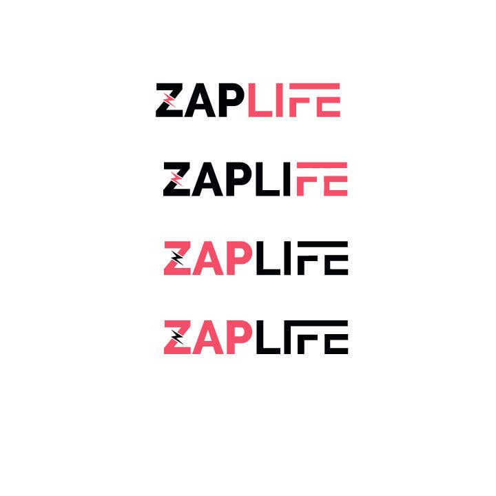 Contest Entry #                                        5                                      for                                         Zap_life logo