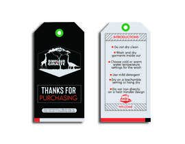 #19 cho Create Care Tag & Thank you for purchase tag for Merchandise bởi samsonnahar11