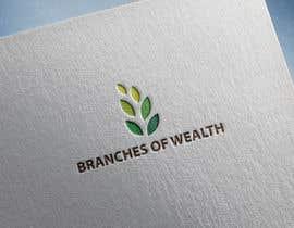 "#569 untuk Logo design ""Branches of Wealth"" oleh nazmulhasanfahda"