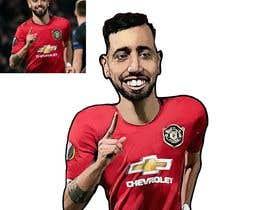#187 for Funny Football Player Caricature by dorotasosnowka