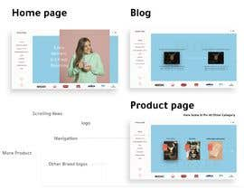 #38 cho landing page design for a coffee and tea online store bởi miteshvanra