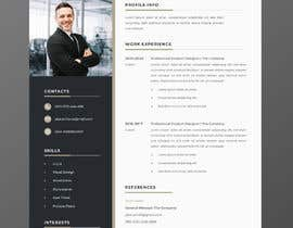 #21 for Single page resume by mdataur15