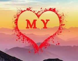 Nro 123 kilpailuun MY heart logo käyttäjältä AhmedSaeed08
