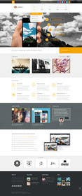 #13 untuk Flat web mockup design oleh Se7enTech