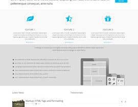 #19 untuk Flat web mockup design oleh deepakinventor