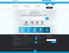 #22 for Redesign homepage by nikil02an