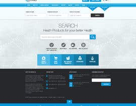 #23 for Redesign homepage by nikil02an