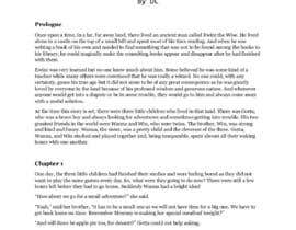 #58 untuk Kids story about a life lesson oleh A600DC