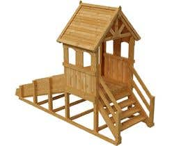 nº 12 pour Design a child's outdoor play construction from wood par ARTandFASHION