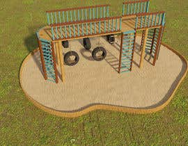 nº 8 pour Design a child's outdoor play construction from wood par hararafi2020