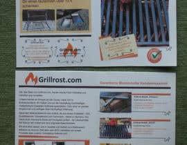 #8 for Erstellen eines Flyers für Grillrost.com by lalupa
