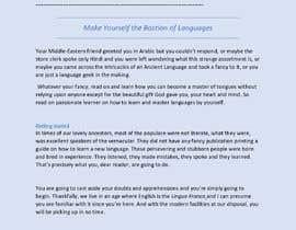 Nro 30 kilpailuun Creative Writing käyttäjältä adilalam132