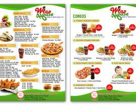 #10 pentru I need some Graphic Design Menu card for my Quick Service Restaurant de către LampangITPlus