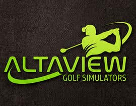 #334 para Logo design for a golf simulator company de sinzcreation