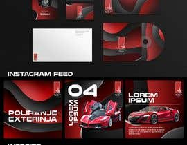 #41 for Design an Instagram puzzle template + brand kit for a Car Detailing business by heyhams