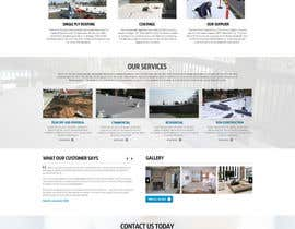 #26 cho Website design for Roofing company bởi nikil02an