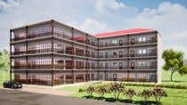 Bài tham dự #32 về 3D Design cho cuộc thi 3 D Elevation for a Commercial Building