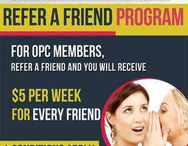 #10 untuk Design a Flyer for our Refer a Friend Poster oleh mirandalengo