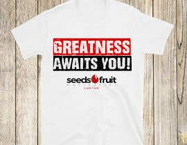 "#156 for ""Greatness Awaits You!"" T-Shirt Design by varuniveerakkody"