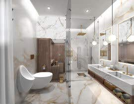 #58 para Master bathroom design por koremit