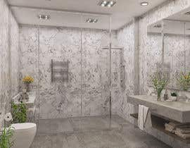 #11 para Master bathroom design por hararafi2020