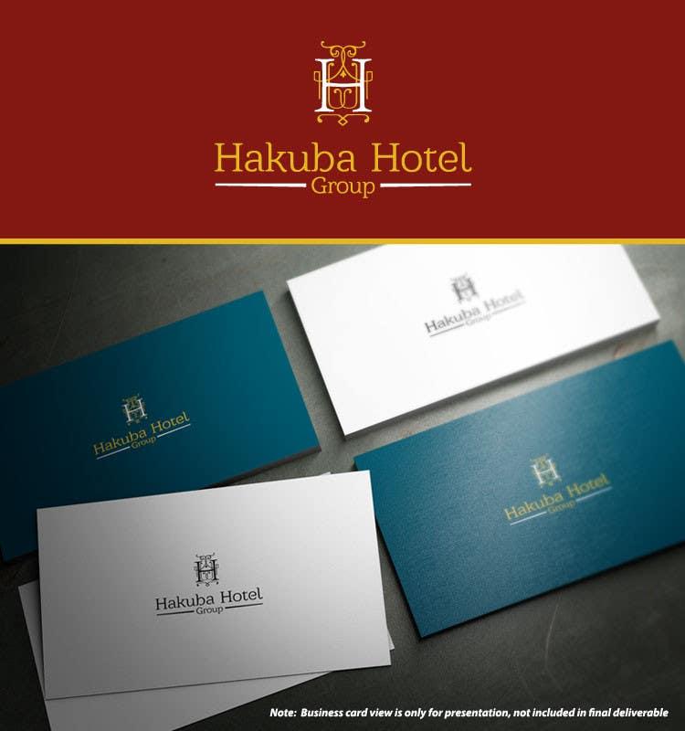 Inscrição nº 1 do Concurso para Logo Design for Hakuba Hotel Group