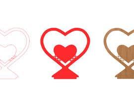 #19 für Make a heart shape vector design - SVG format, AI von Bukhari690