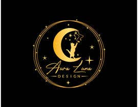 Nro 197 kilpailuun Aura Luna Design Logo Design käyttäjältä maqmasum98