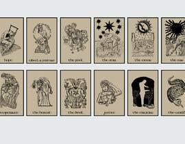 #42 dla I need ORIGINAL ART. Concept art of Tarot Cards przez abusaeid74