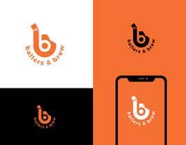 nº 875 pour Logo for a Donut and Boba shop par etipurnaroy1056