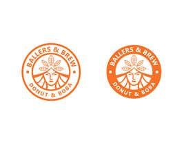 nº 881 pour Logo for a Donut and Boba shop par Sumera313