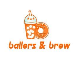 nº 890 pour Logo for a Donut and Boba shop par cshamza10