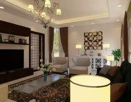 Nro 53 kilpailuun 3D Modern classic interior design living room käyttäjältä husni6465