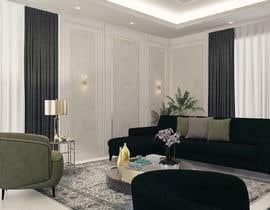 Nro 86 kilpailuun 3D Modern classic interior design living room käyttäjältä samlatte