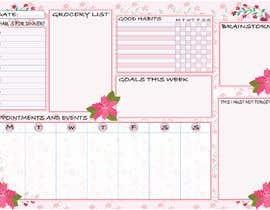 #40 for Design a calendar by essam1964117