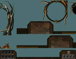 #36 for Create 6 UI decoration pieces for use in the HUD of a pre-alpha, india video game af AlexandrShmidt