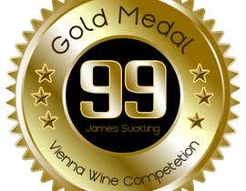 #16 untuk Design of points sticker for wine oleh luisraulag