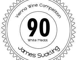 #21 untuk Design of points sticker for wine oleh luisraulag