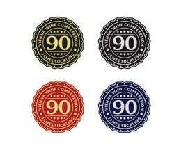 #8 untuk Design of points sticker for wine oleh smizaan