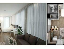 #92 for Design room layout for two 300 sq ft studio apartments by rasheda88
