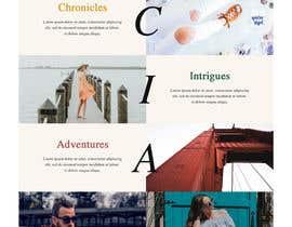 nº 2 pour Homepage Mock-Up for Amish Furniture Website par bordersandlines