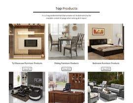 nº 3 pour Homepage Mock-Up for Amish Furniture Website par ravisondagar125