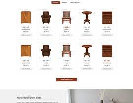 nº 14 pour Homepage Mock-Up for Amish Furniture Website par Mufazzilzafar07