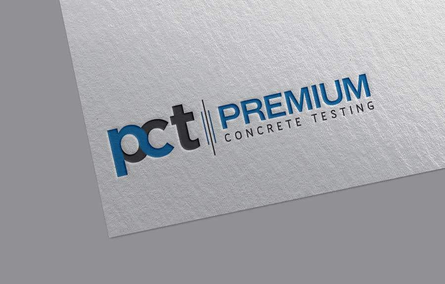 Contest Entry #                                        53                                      for                                         Design a Logo for a Concrete Testing Company