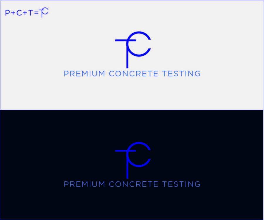 Contest Entry #                                        15                                      for                                         Design a Logo for a Concrete Testing Company