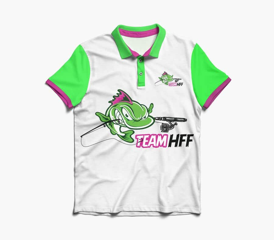 Contest Entry #                                        39                                      for                                         Team Fishing Shirt HFF