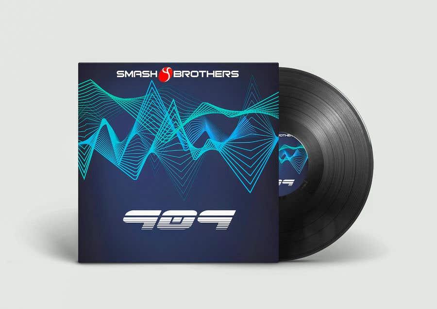 Kilpailutyö #                                        23                                      kilpailussa                                         Simple Track Cover for Techno Music Track