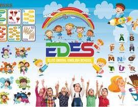 Nro 40 kilpailuun Design the walls of our primary school käyttäjältä abusaeid74